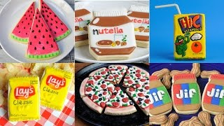 BEST DECORATED COOKIES THAT LOOK LIKE OTHER FOODS, COMPILATION, HANIELA'S