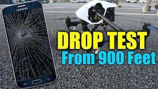 Samsung Galaxy S6 Drop Test - Extreme 900 Feet Drop Test!