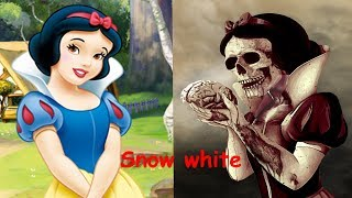 Disney Princesses As Monsters   Disney Characters as Zombies 2017   All Characters