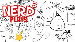 Nerd³ Plays... Quick, Draw - Cyberdyne Dali