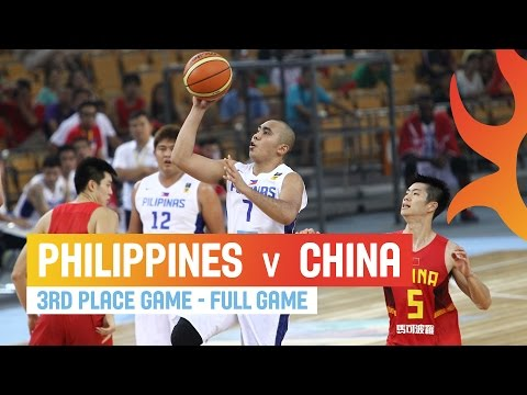 watch Philippines v China - Full Game 3rd Place Game - 2014 FIBA Asia Cup