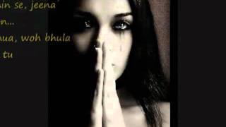 Tuu Hai Lyrics Mithoon Sad Hindi 2009 SonG   YouTube