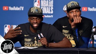 Dissecting Draymond Green's latest comments about Kevin Durant | The Jump