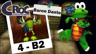 Croc Legend of Gobbos - Baron Dante´s Funky Inferno (4-B2) + Final