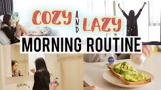 Cozy & Lazy MORNING ROUTINE