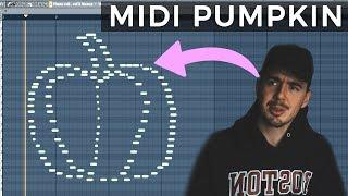 I Made a Midi Pumpkin for Halloween. | MIDI PICTURE CHALLENGE!