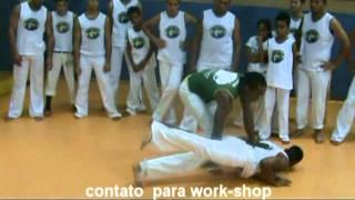 Workshop Aula de capoeira C Mestre  Pepeu Capoeira e professores monkey