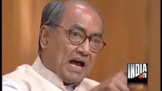 Digvijay Singh in Aap Ki Adalat speechless afer a Lady questions him