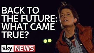 How Much Of Back To The Future Came True?