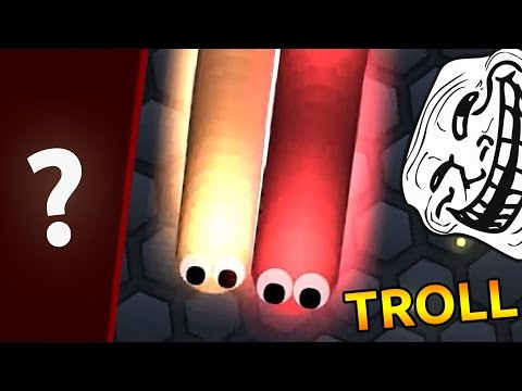 TROLLING PEOPLE IN SLITHERIO Funny Moments Slither.io