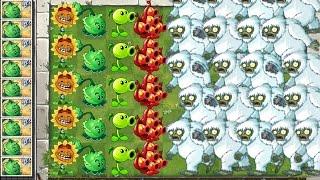 Plants vs. Zombies 2 Gameplay Yeti Attack!