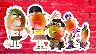 Wrong Heads Fanboy and Chum Chum Finger Family | Videos for Kids