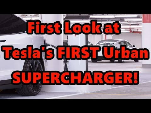 Xxx Mp4 In Depth Tesla Urban Supercharger FIRST LOOK Chicago 3gp Sex