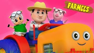 Old MacDonald had a farm | Nursery rhymes | 3D rhymes | Children song
