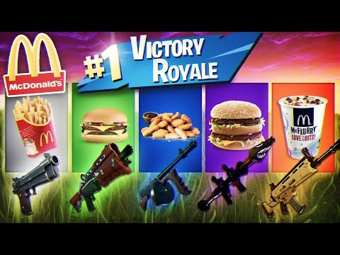 McDonalds HELPS ME WIN A GAME OF FORTNITE NOT CLICKBAIT CRAZIEST SOLO RESULT