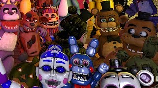 THE ANIMATRONICS REACT TO: FNAF Anniversary Images #2 || IT'S FNAF'S THIRD BIRTHDAY!!!