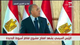 د. محمد عبدالعاطي / وزير الري: 1.4 مليار جنيه تكلفة أعمال الحماية لتقليل تأثيرات السيول
