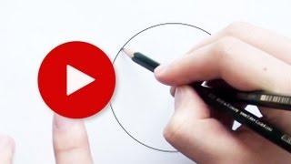 How to Draw a Perfect Circle with Pencil 2 || Very Easy Drawing Tips & Tricks 6