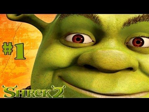 Shrek 2 The Game Walkthrough Part 1 PC HD