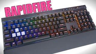 Corsair K70 RGB Rapidfire Keyboard | Review