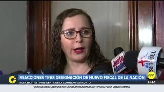 """Rosa Bartra espera que nuevo Fiscal de la Nación """"comparta información"""" a la Comisión Lava Jato"""
