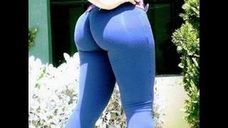 HOTTEST! Yogapants and Spandex Asses
