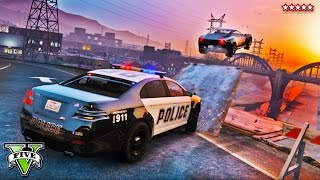 GTA 5 Funny Moments | Epic BUSTED Police Chase | Extreme Cops and Robbers | GTA V Funny Moments