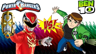 Power Rangers And Ben 10 Hard Fights Gameplay