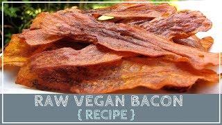 Raw Vegan Eggplant Bacon Recipe