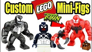 Awesome Spider-Man LEGO Custom Minifigures 2017