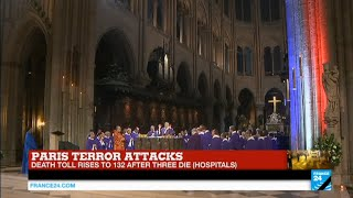 Paris Attacks: Notre Dame de Paris cathedral honors victims in special memorial service