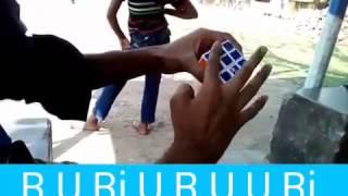কিউব মিলানো শিখুন, learn how to solve a rubix cube