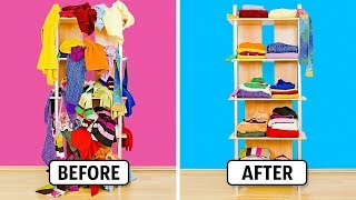 15 AMAZING CLOTHES FOLDING HACKS TO SAVE SPACE
