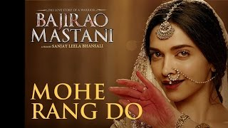Mohe Rang Do Laal in Tamil (Official Video Song) ¦ Bajirao Mastani