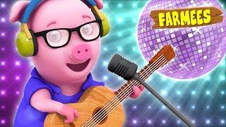 Oink Oink Pig | Original Nursery Rhyme | Children