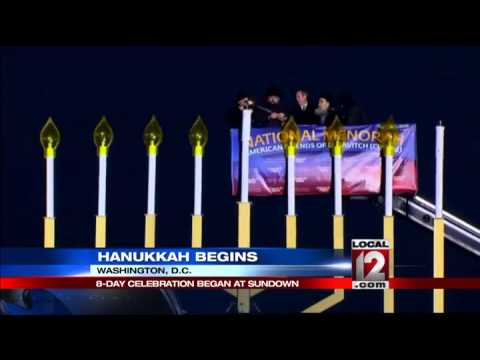 Eight day Jewish festival of Hanukkah begins