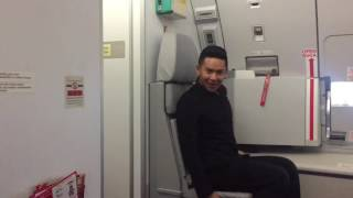 AirAsia Flight Attendant Recreates Toxic Britney Spears Music Video