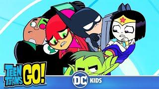 Teen Titans Go! En Español   Se arma la Joven Liga de la Justicia   DC Kids