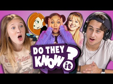 DO TEENS KNOW 2000s DISNEY TV SHOWS REACT Do They Know It