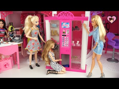Xxx Mp4 Frozen Queen Elsa Anna Barbie Vending Machine With Doll Accesories 3gp Sex