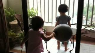 koay jess jo with a balloon