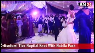 SMALL DOCTOR PERFORMED FOR HIT SONG FOR THE LADIES ON BOUQUET AT ORITSEFEMI'S WEDDING