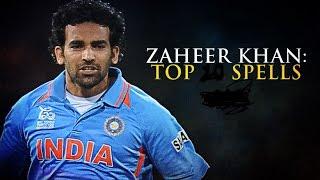Zaheer Khan's best bowling