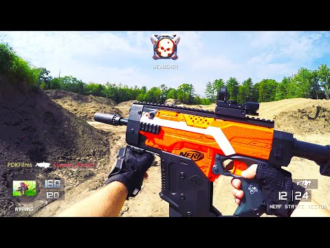 Nerf Gun Game 2: Call of Duty (First Person Shooter)