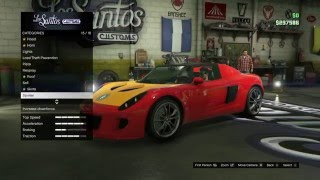 GTA 5 selling all my cars for a T20