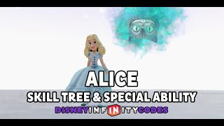 Alice Skill Tree & Special Ability Gameplay - Alice Through The Looking Glass - Disney Infinity 3.0