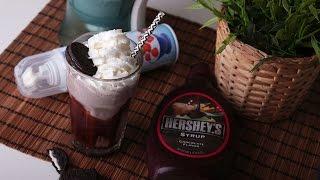 ميلك شيك اوريو / Oreo milkshakes  -  سهل و سريع  / Easy and fast