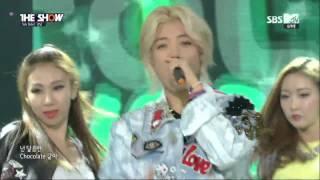 (150915) KANGNAM 강남 – CHOCOLATE @ SBS MTV/funE THE SHOW