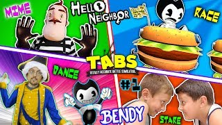 HELLO NEIGHBOR BEDTIME STORY! Mart Stole Bendys Cat! (FGTEEV TABS Competition Pt 1: BL- INK MACHINE)