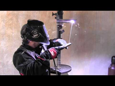 Stick Welding Tips for a 4g Overhead Weld Test